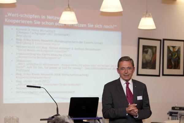 "Netzwerktag 2011: Experts Group ""Kooperation & Netzwerke"""